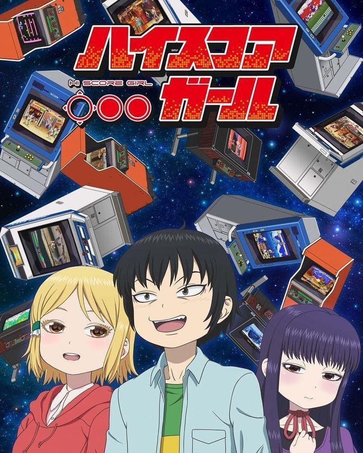 Hi Score Girl hiscoregirl anime netflix