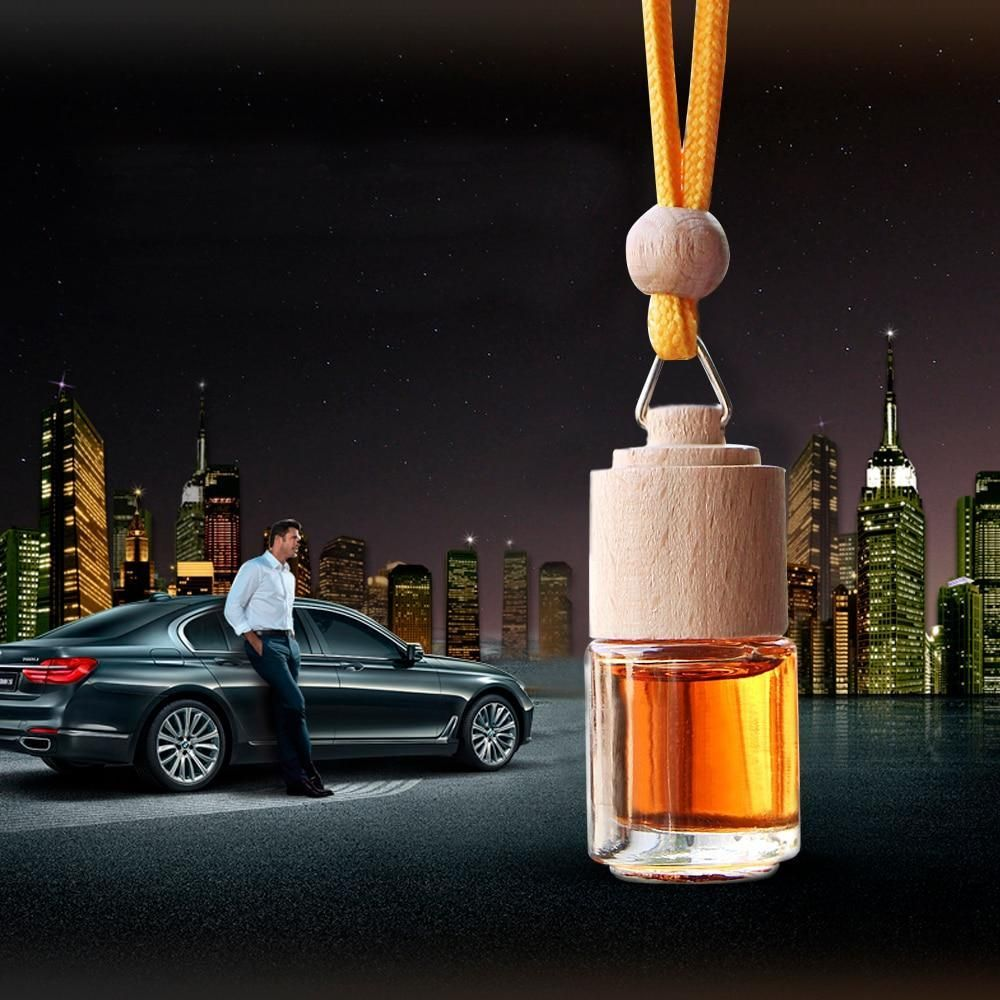 Woden Bottle Car Air Freshener Refillable Car air