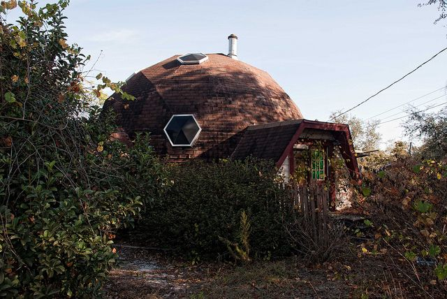 Abandoned Geodesic Dome House Near Ocala Florida With Images