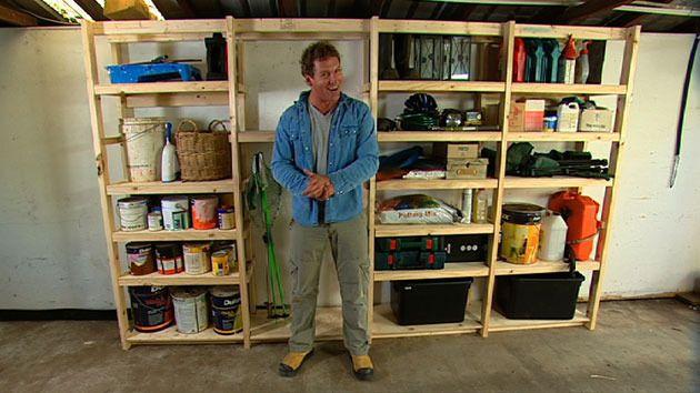 diy garage storage better homes and gardens yahoo 7 garage rh pinterest com