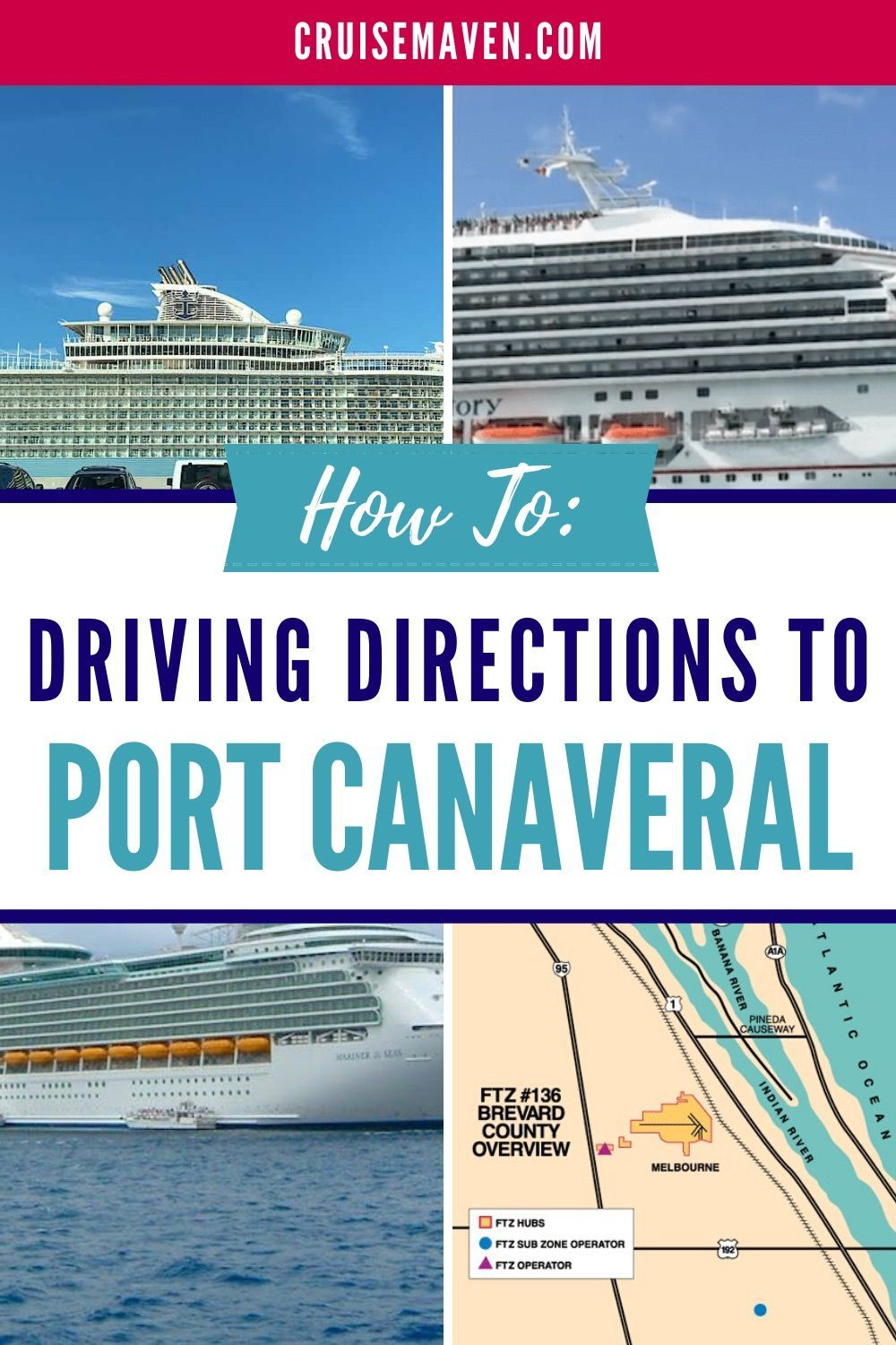 Driving Directions How To Get To Port Canaveral Cruise