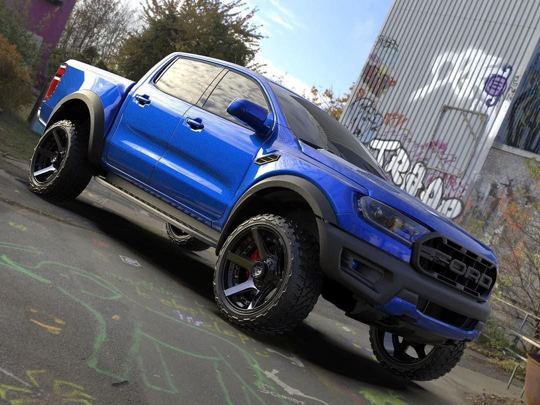 The 2019 Ford Ranger Raptor Man Edition Featuring 22x10 4p60s