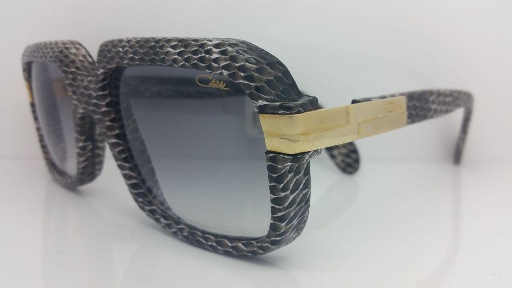 5964986f9e Cazal Sunglasses 607-3 Col 602 Limited Edition Snake Skin 56-18  Cazal   Aviator