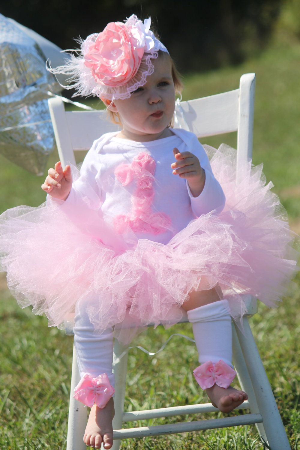 Adorable girls 1st 2nd birthday tutu Outfit other by