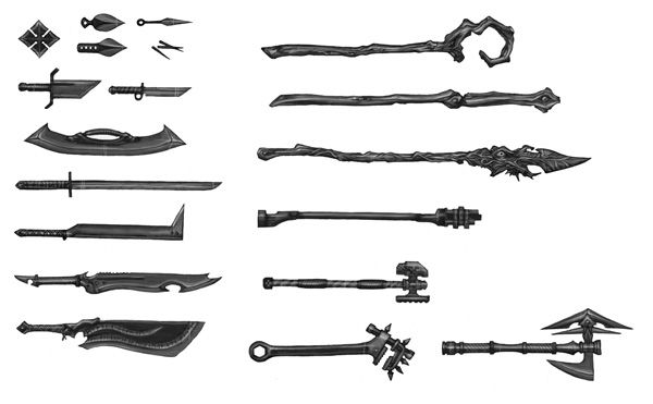 Melee Weapons | Entertainment: Dungeons & Dragons ...