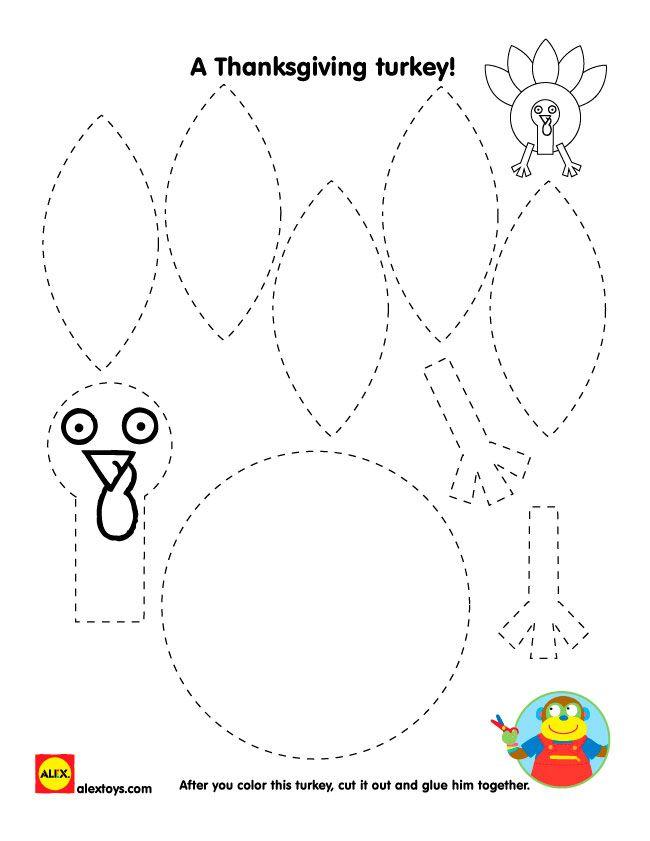 thanksgiving turkey printables toddler time thanksgiving crafts rh pinterest com