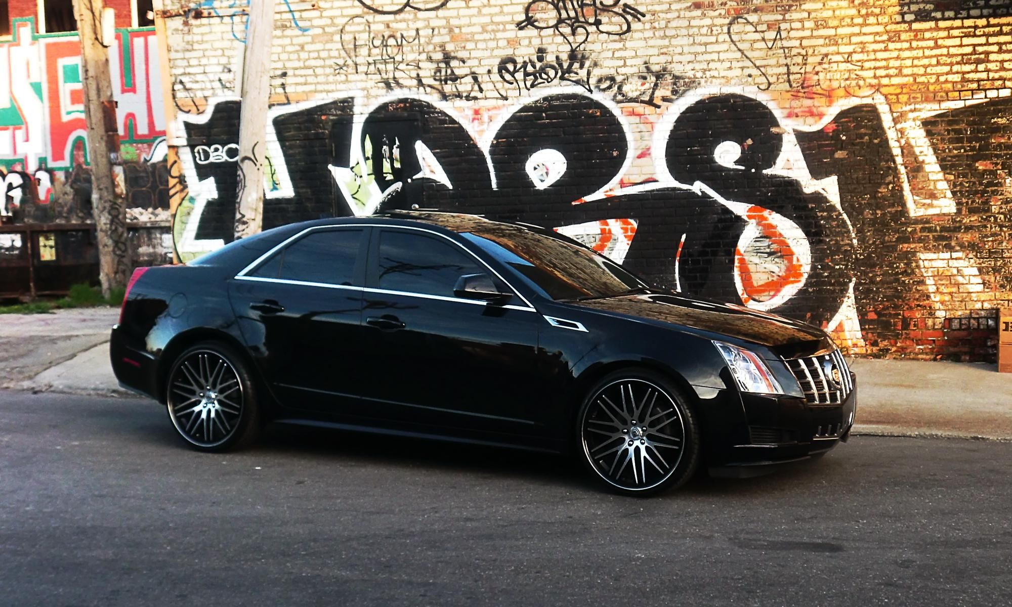 wrap with camshaft white satin v cts cadillac custom by