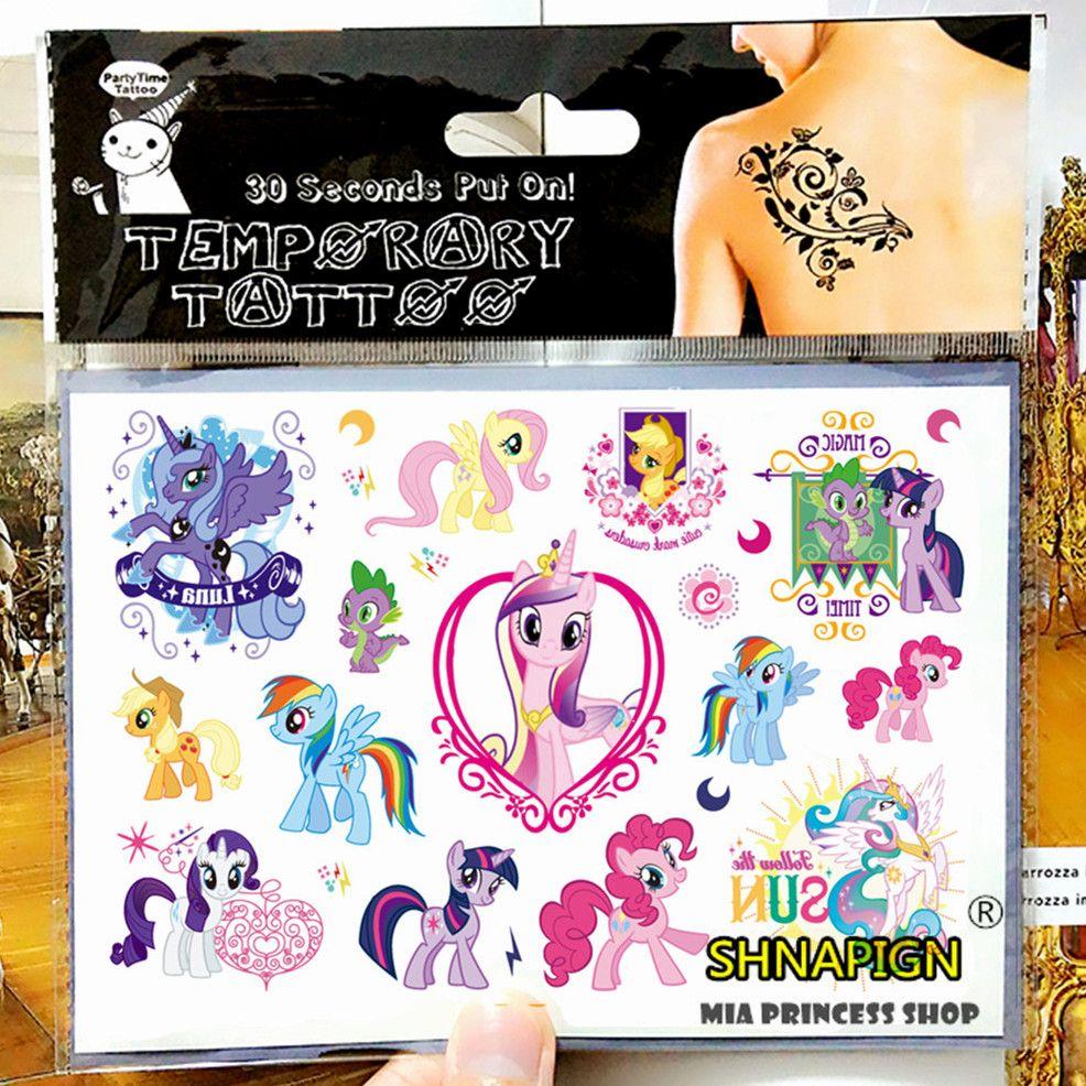 My Little Pony Brinquedo De Crianca Temporaria Body Art Tattoo Flash Do Tatuagem Adesivos 17 10 Cm Carro De Henna Tatoo A Tattoo Stickers Flash Tattoo Tattoos [ 986 x 986 Pixel ]