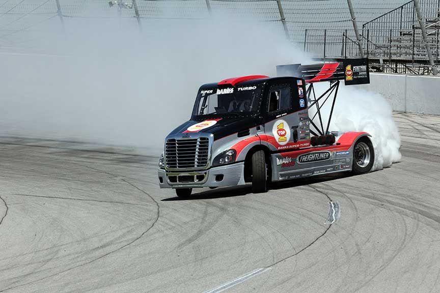 Drifting Semi Truck Knfilters Drift
