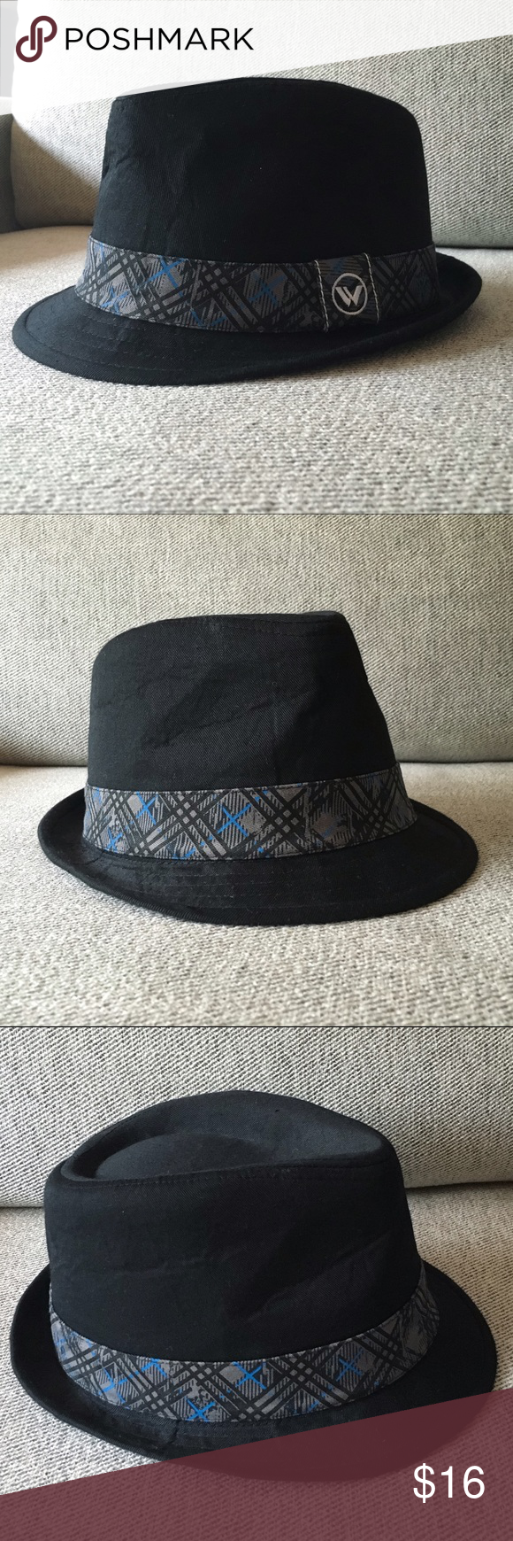 Shaun White fedora for boys Shaun White black fedora for boys. Never worn, slight dent from storage. Youth size 4-16. Shaun White Accessories Hats