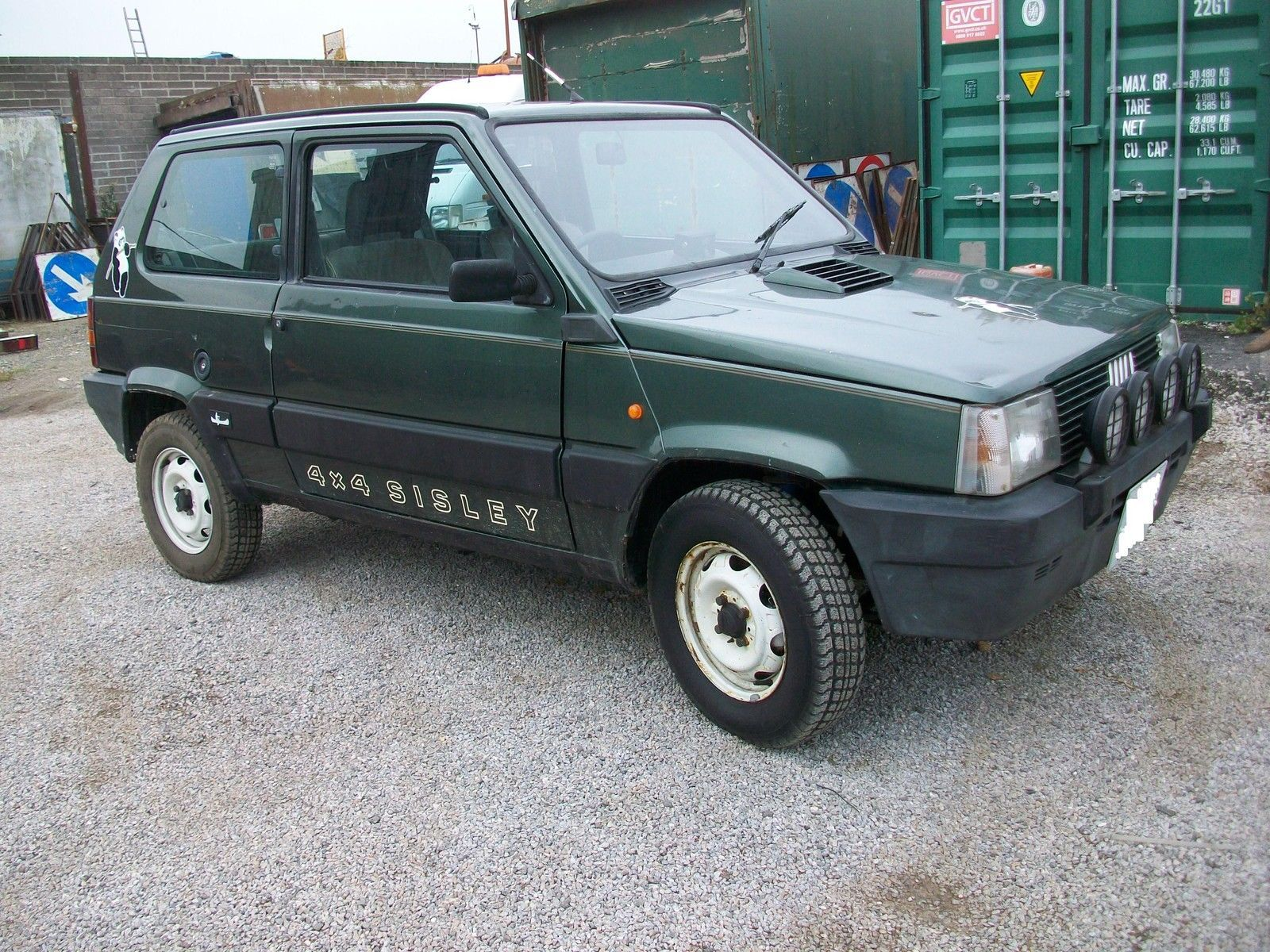fiat panda 4x4 sisley 1991 new mot ebay pandinhas pinterest fiat panda fiat and 4x4. Black Bedroom Furniture Sets. Home Design Ideas