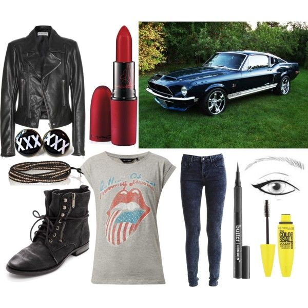 A fashion look from November 2014 featuring Balenciaga jackets, VILA jeans and Sam Edelman ankle booties. Browse and shop related looks.