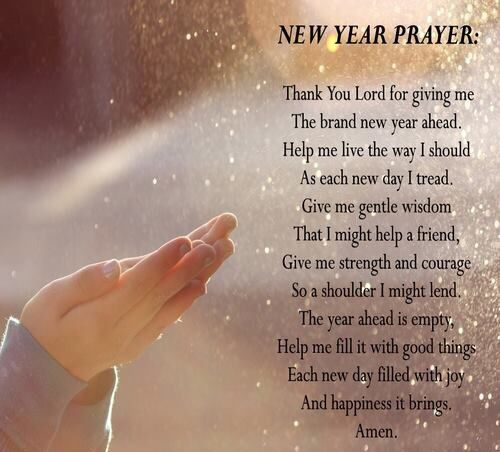 New Year Prayer | Happy New Year 2019 Wishes Quotes Poems Pictures ...