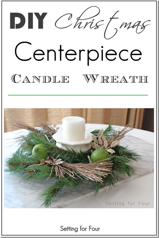 dollar store christmas centerpiece share today s craft and diy rh pinterest com