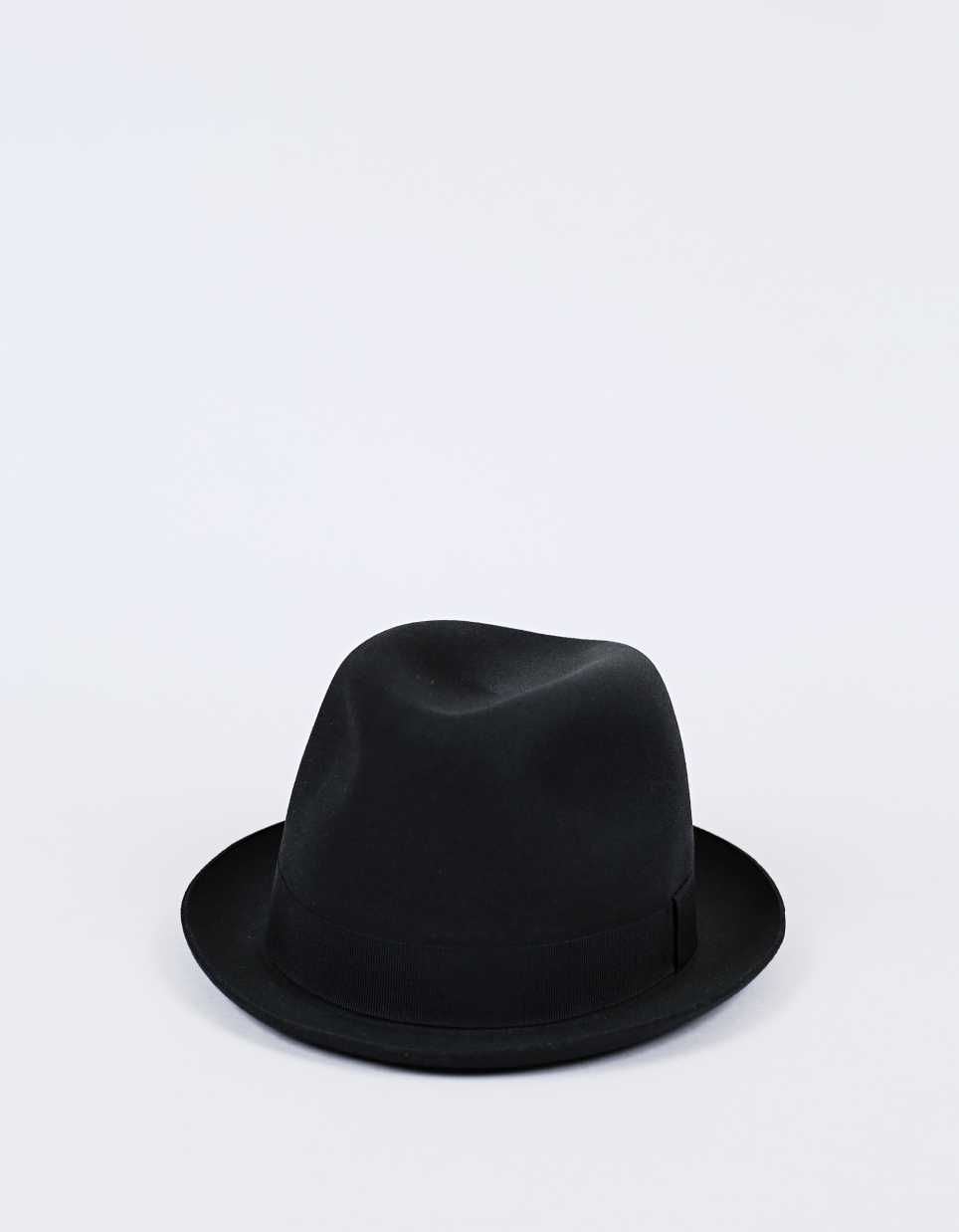 Barbisio Pichler Rabbit Felt Hat Black - Nitty Gritty Store