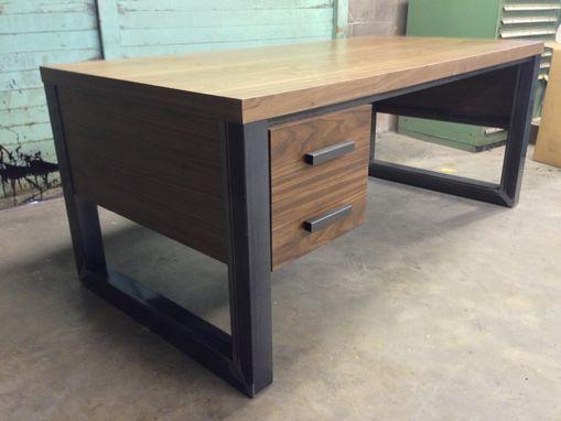 Custom Made Office Desk Office Desks Woodworking Desk