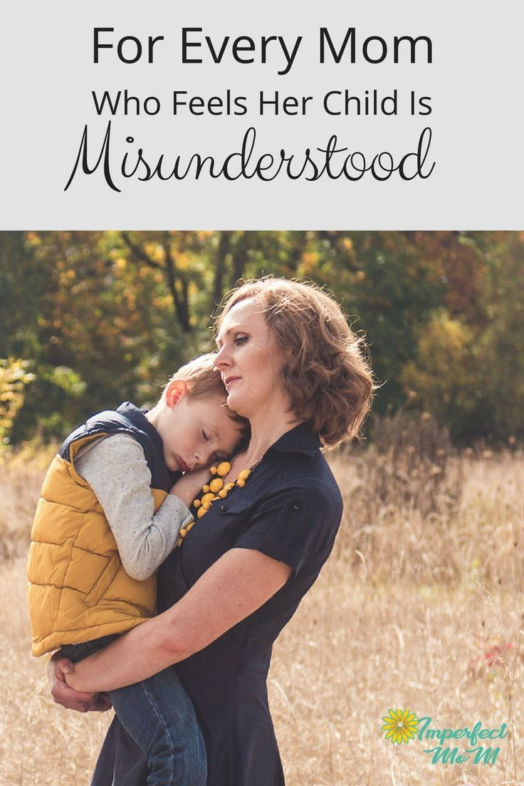 For Every Mom With a Misunderstood Child Conscious