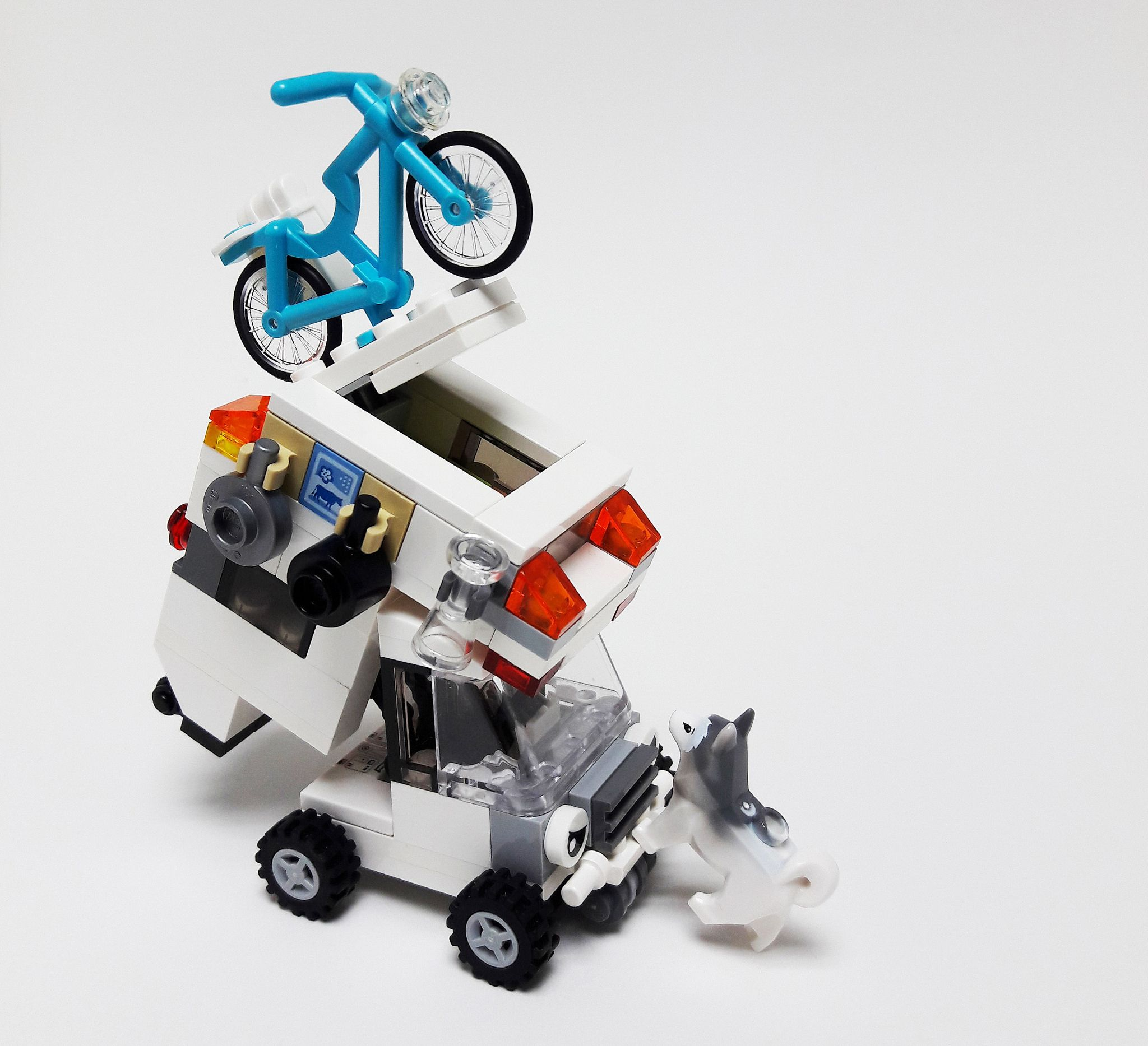 lego truck camper instructions