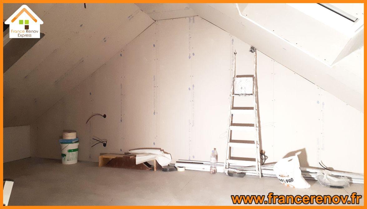 Creation D Une Tremie Escalier aménagement de combles à ronchin | combles, fenêtre de toit