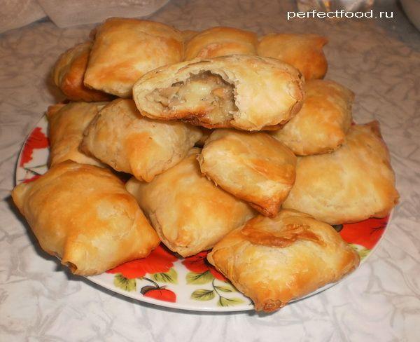 пирожки с яблоками от шефа рецепт с фото