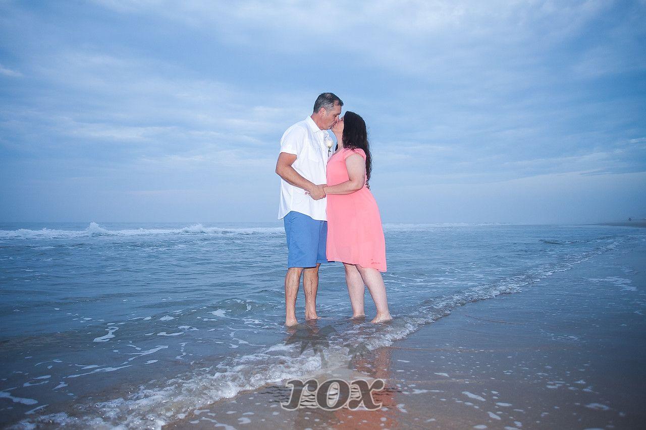 Sunrise Beach Wedding Elopement In Ocean City MD