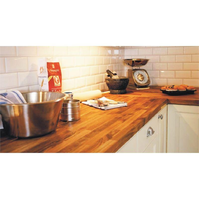 Interbuild 2200x600x26mm Acacia Hardwood Benchtop Panel