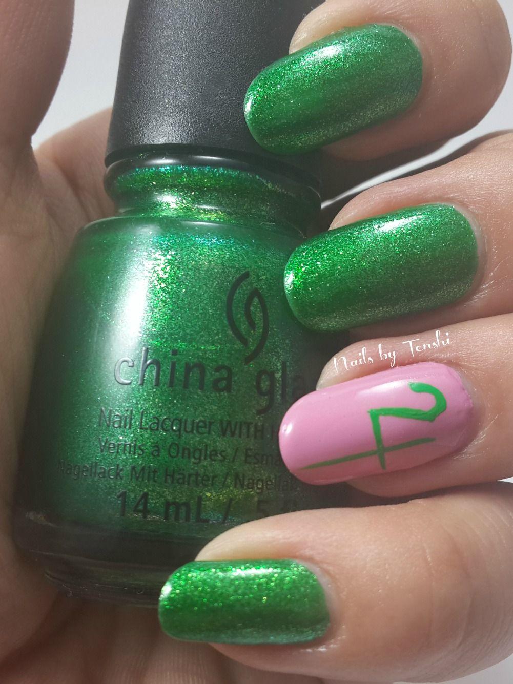 Nails by Tenshi: Act 5: Makoto Sailor Jupiter Sailor Jupiter nail ...