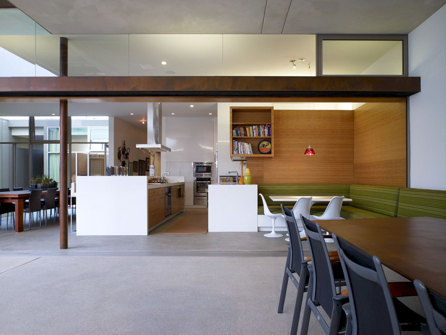 The Yin Yang House A Net Zero Energy Family Home In Quiet California Neighborhood Top Kitchen Trends Home House
