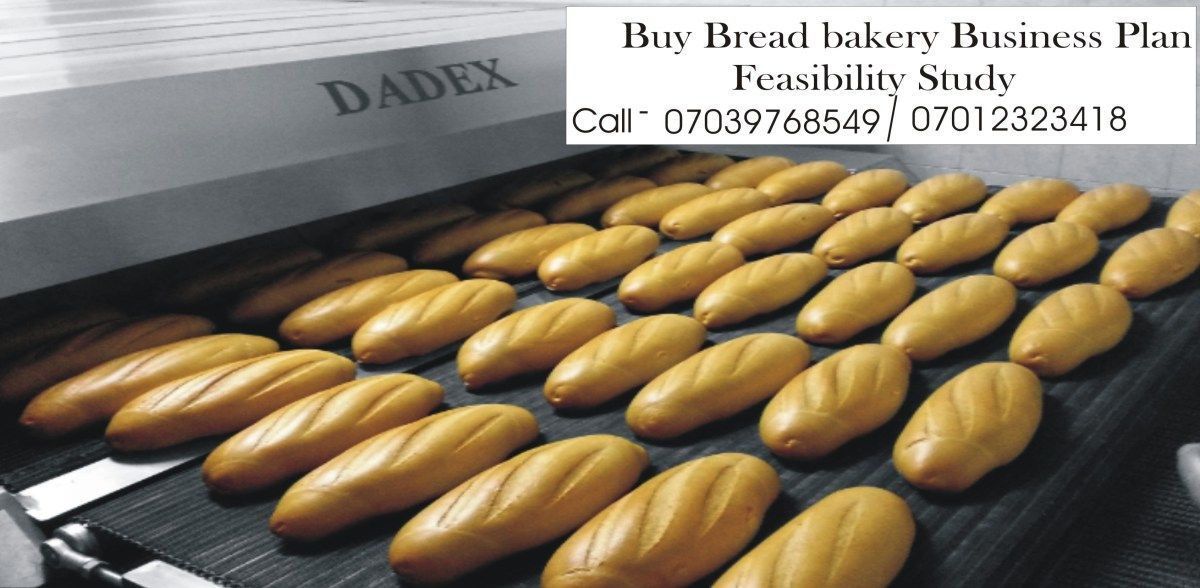 Bread Bakery Business Plan in Nigeria Feasibility Bakery