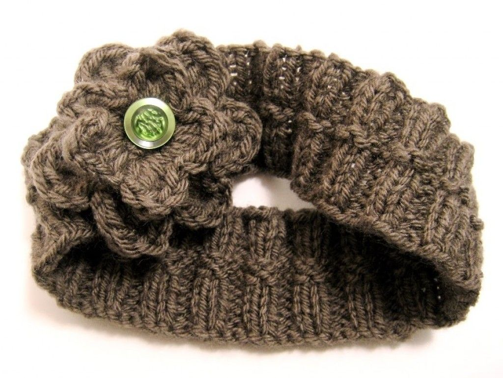 Headband Online Knitting Patterns - Knitted Ear Warmers Free Knit ...