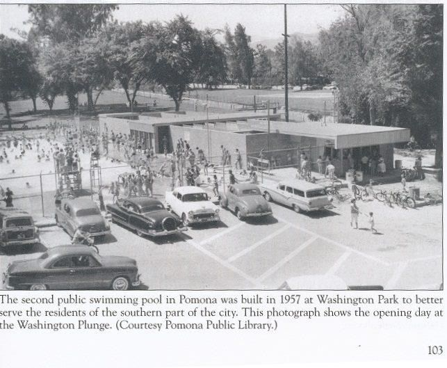 This Picture Is Older Than Me But Its The Only One I Could Find Of Washington Plunge Loved Going Here California History Ca History Pomona