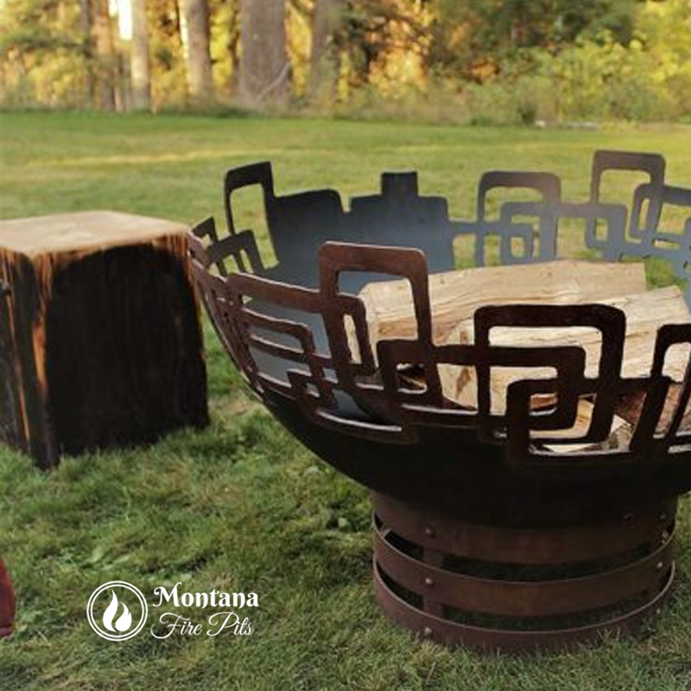 Pin By Montana Fire Pits Outdoor Gas Fire Pits On Backyard