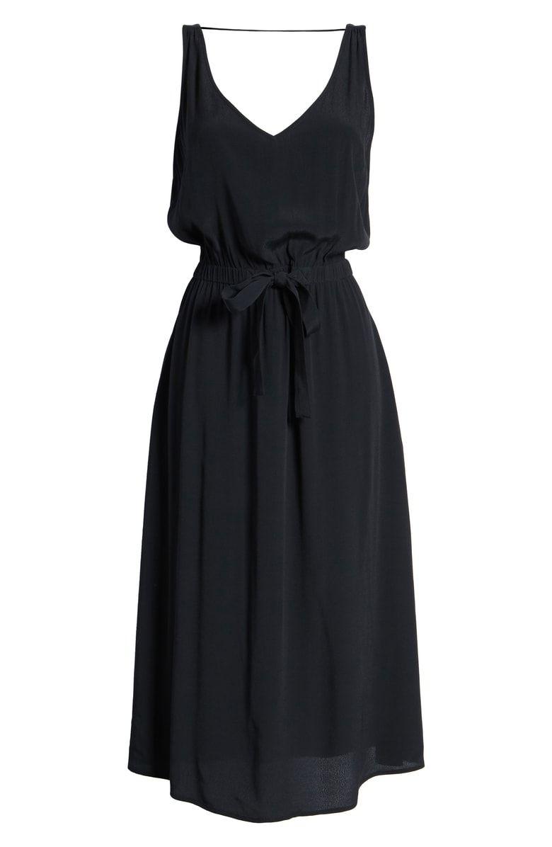 Treasure Bond Blouson Tank Midi Dress Nordstrom Dresses Midi Dress Nordstrom Dresses [ 1196 x 780 Pixel ]