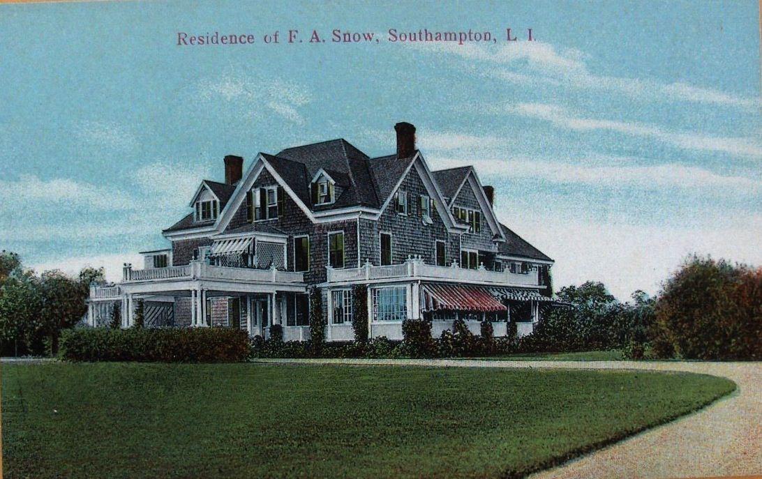 gardenside, southampton, new york, c. 1900 Hamptons