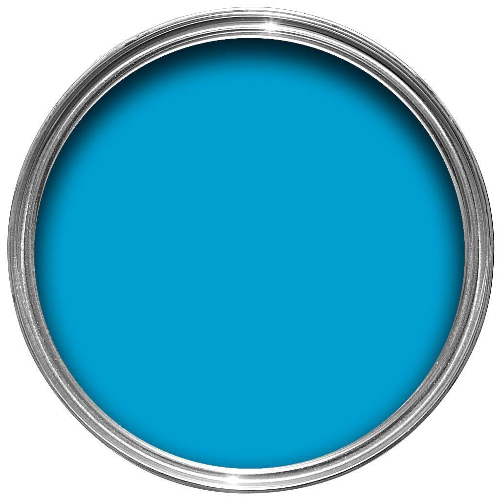 dulux endurance striking cyan matt emulsion paint 25l departments diy at bq
