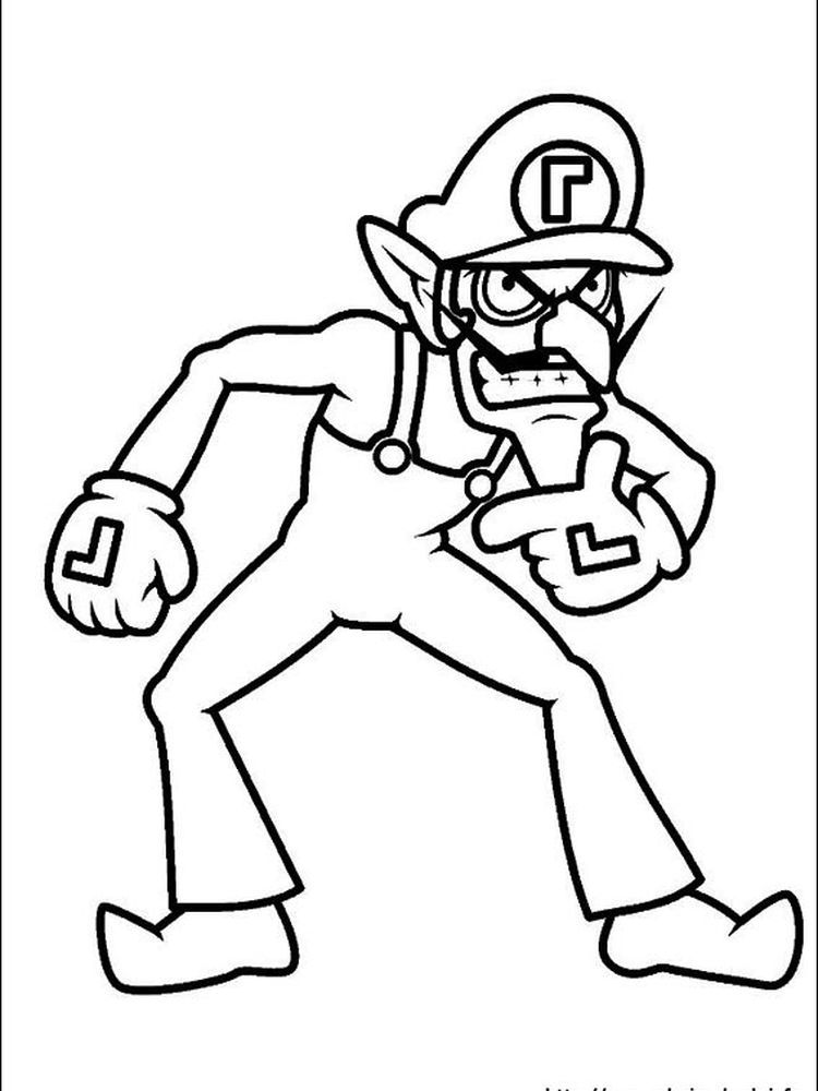 Mario And Peach in 2020 Mario coloring pages, Super