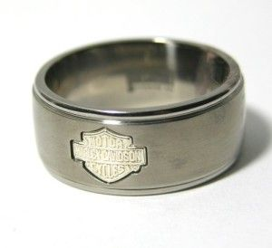 His And Hers Harley Davidson Wedding Rings