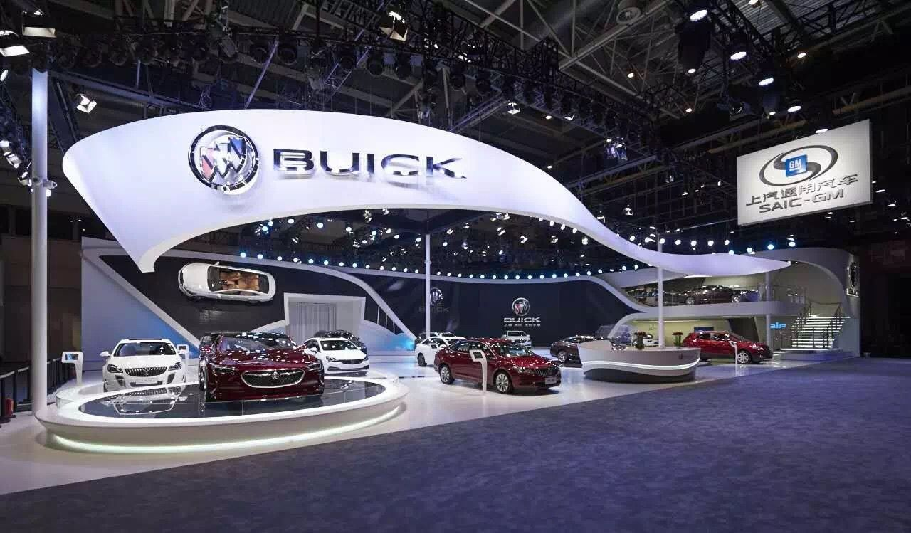 Big Exhibition Stand Design : Added quot wow to the biggest car exhibition in asia motor