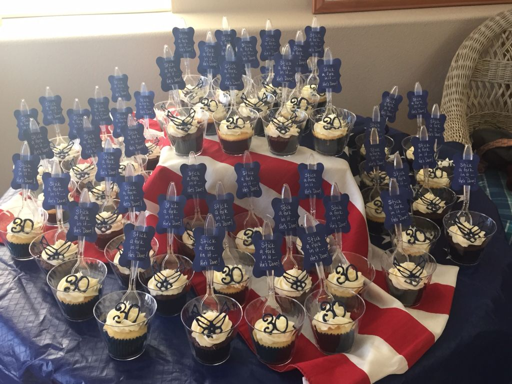 Military retirement party ideas for Air force decoration