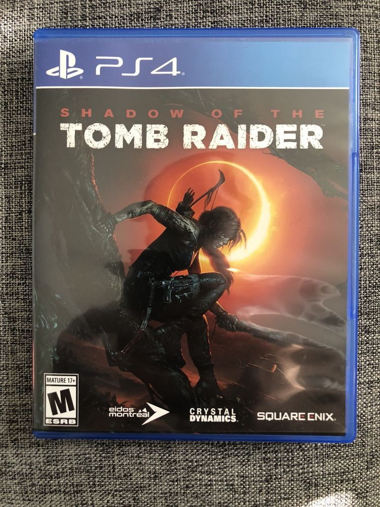 Shadow Of The Tomb Raider Ultimate Edition Sony Playstation 4 2018 Tomb Raider Ps4 Tomb Raider Xbox One Tomb Raider Game