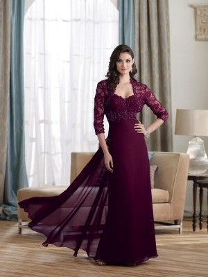 3e48b169ca0443 A-line Sweetheart Neckline Sleeveless Floor Length Chiffon Mother of the Bride  Dress