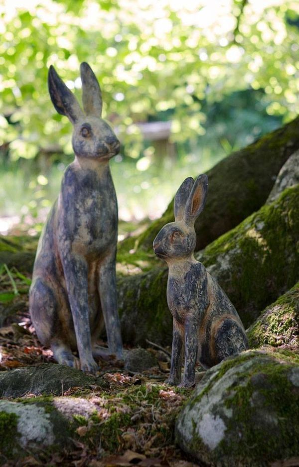 every garden needs hares