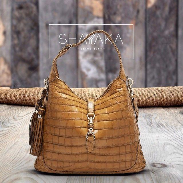 39e71527a01e Gucci Jackie Crocodile Shoulder Bag Bag