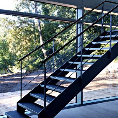 Moderne Stahltreppe made by #smgtreppen www.smg-treppen.de ...