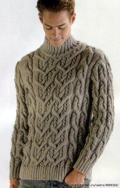 ac6d8e32ef3 мужской свитер с аранами - Самое интересное в блогах
