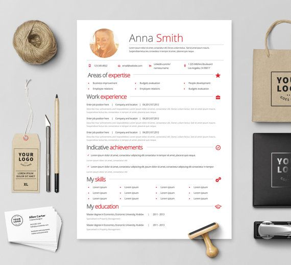 Creative Resume Microsoft Word Template - Instant download - by - resume ms word template