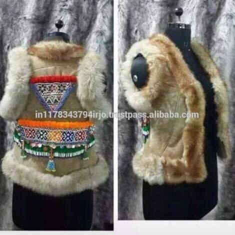 Check out this product on Alibaba.com APP TRADITIONAL BANJARA HANDICRAFT INDIAN VINTAGE LATEST DESIGNER LEATHER FUR VEST