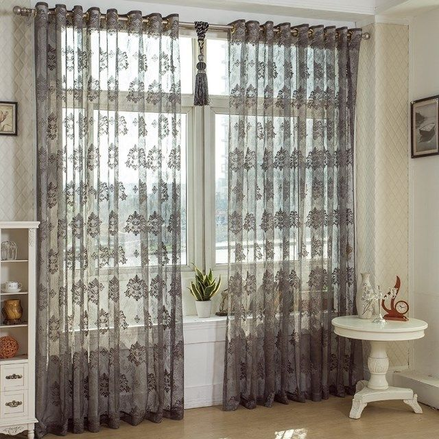 Cheap Window Lace Curtain Buy Quality Curtain Roll Directly From China Window Curtain Design Supplie Vintage Curtains Curtains Living Room Gray Sheer Curtains #vintage #curtains #for #living #room