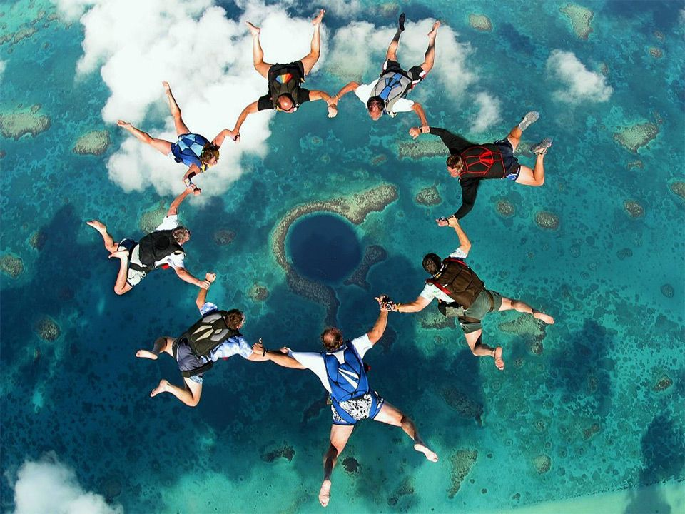 Dive Into The Blue Hole