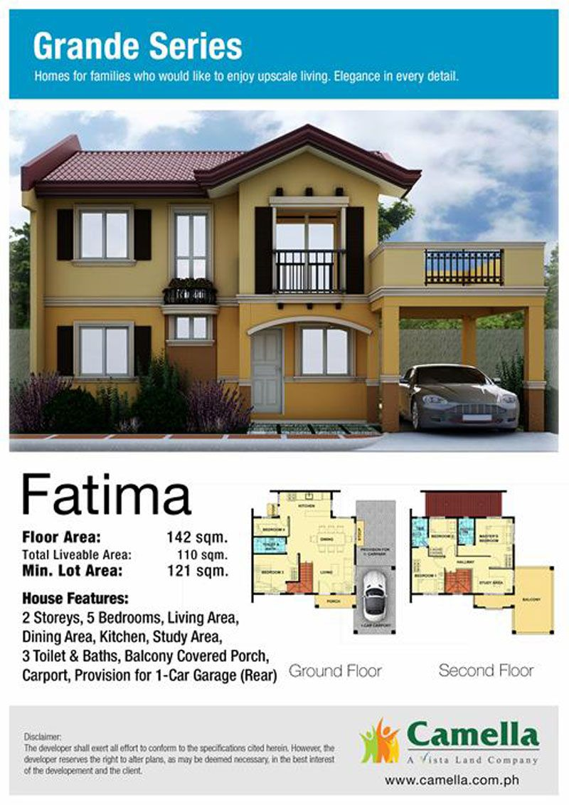 MarketingSpecsFatima Model homes